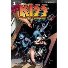 KISS BLOOD STARDUST #1 CVR F SANAPO TRICK TREAT