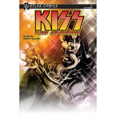KISS BLOOD STARDUST #1 BRYAN HILL SGN ATLAS ED