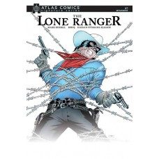 LONE RANGER VOL 3 #1 MARK RUSSELL SGN ATLAS ED