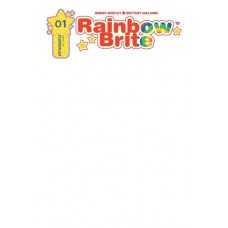 RAINBOW BRITE #1 BLANK AUTHENTIX ED