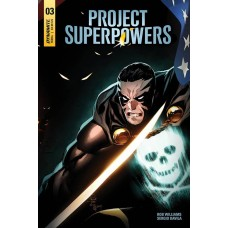 PROJECT SUPERPOWERS #3 CVR D TAN