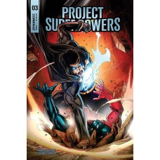 PROJECT SUPERPOWERS #3 CVR E SEGOVIA