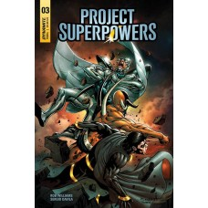 PROJECT SUPERPOWERS #3 CVR F DAVILA