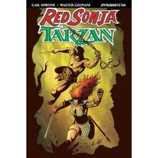 RED SONJA TARZAN #6 CVR A GEOVANI