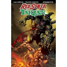 RED SONJA TARZAN #6 CVR D CASTRO