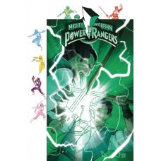 MIGHTY MORPHIN POWER RANGERS #32 SUBSCRIPTION GIBSON VARIANT SG