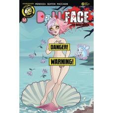 DOLLFACE #21 CVR F MENDOZA REAL GIRL RISQUE (MR)