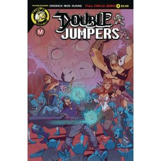 DOUBLE JUMPERS FULL CIRCLE JERKS #3 (OF 4) CVR A RIOS (MR)