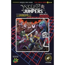 DOUBLE JUMPERS FULL CIRCLE JERKS #3 (OF 4) CVR B LOGAN (MR)