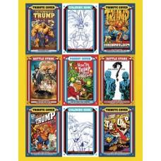TRUMP TRADING CARDS UNCUT SHEET 10 PACK