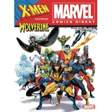 MARVEL COMICS DIGEST #9 X-MEN & WOLVERINE