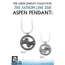 ASPEN JEWELRY COLL 2018 FATHOM PENDANT STAINLESS ED