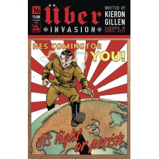 UBER INVASION #16 PROPAGANDA POSTER CVR (MR)