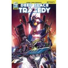 DEEP SPACE TRAGEDY #4 (OF 4) NEW PTG MILNE CVR