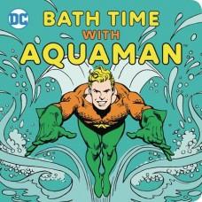 BATH TIME WITH AQUAMAN BATH BOOK