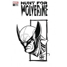 DF HUNT FOR WOLVERINE #1 HAESER REMARKD