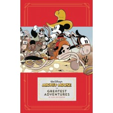 DISNEY MICKEY MOUSE HC GREATEST ADVENTURES