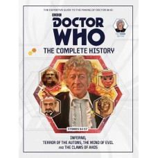 DOCTOR WHO COMP HIST HC VOL 83 3RD DOCTOR STORIES 54-57