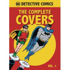 DC COMICS DETECTIVE COMICS COMP COVERS MINI HC VOL 01