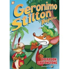 GERONIMO STILTON REPORTER VOL 01 OPERATION SHUFONGFONG