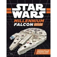 STAR WARS MILLENNIUM FALCON BOOK & MEGA MODEL