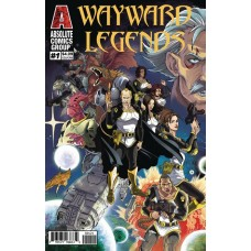 WAYWARD LEGENDS #1 HOLOGRAPHIC GOLD FOIL CVR