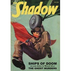 SHADOW DOUBLE NOVEL VOL 135 GHOST MURDERS  SHIPS OF DOOM