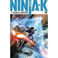 NINJA-K #12 CVR B TURNBULL