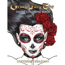 GFT ADULT COLORING BOOK DIFFERENT SEASONS ED