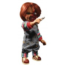 CHILDS PLAY TALKING PIZZA FACE CHUCKY 15IN MEGA SCALE FIG
