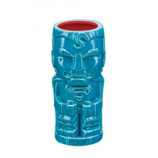 DC HEROES SUPERMAN GEEKI TIKI GLASS