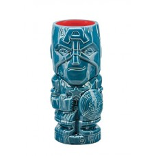 MARVEL HEROES CAPTAIN AMERICA GEEKI TIKI GLASS