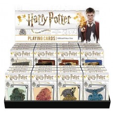 HARRY POTTER 24PC PLAYING CARD ASST