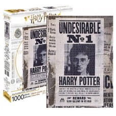HARRY POTTER UNDESIRABLE 1000 PIECE PUZZLE