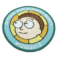 RICK AND MORTY REPLACEMENT MORTY PATCH
