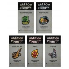 HARROW COUNTY PIN SET