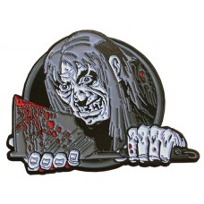 TALES FROM THE CRYPT KEEPER AXE XL PIN BADGE