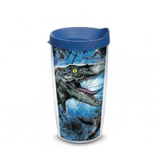 JURASSIC WORLD 2 BLUE RAPTOR 16 OZ TUMBLER