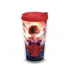 STRANGER THINGS CAST POSTER 16 OZ TUMBLER