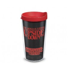 STRANGER THINGS UPSIDE DOWN 16 OZ TUMBLER