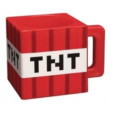 MINECRAFT PLASTIC TNT MUG