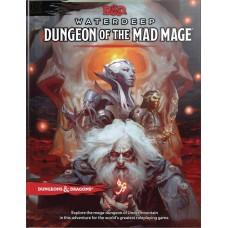 D&D RPG WATERDEEP DUNGEON MAD MAGE HC