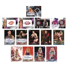 TOPPS 2018 WWE THEN NOW FOREVER T/C BOX