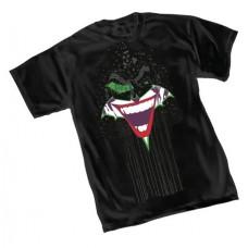 BATMAN THE JOKER GRIN T/S SM