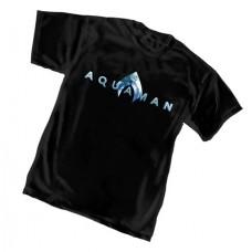 AQUAMAN MOVIE LOGO T/S XL