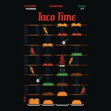 DEADPOOL TACO TIME T/S SM