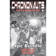 CHRONONAUTS FUTURESHOCK #1 #2 #3 #4 CVR B B&W FERRY VARIANT BUNDLE @A