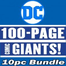 DC COMICS AUG PREVIEWS 100 PAGE GIANT 10PC BUNDLE @A