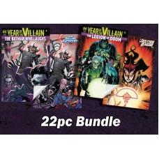DC COMICS SPECIAL SOLICITATION ACETATE COVER 22PC BUNDLE @A