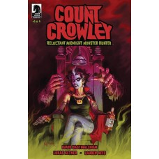 COUNT CROWLEY RELUCTANT MONSTER HUNTER #1 (OF 4) @D